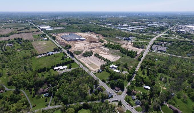 The brand new, 343,000-square-foot FedEx facility in Walker was acquired recently by a New Jersey-based REIT. Commercial real estate insiders say the deal serves as an example of the type of projects that REITs are seeking in the area.