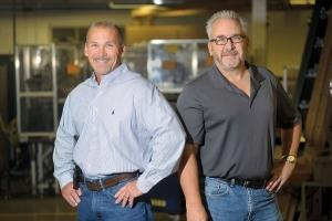 Bruce Chapman, left, and Keith Chapman, right, Midwest Timer Service Inc.