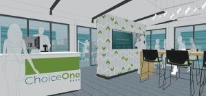Sparta-based ChoiceOne Bank plans to open a new full-service branch in downtown Grand Rapids near Founders Brewing Co. this year. The bank mostly serves rural areas, but first broke into the Grand Rapids market in 2016 with a lending office.