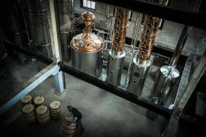 Journeyman Distillery recently added a new production still to its operations in Three Oaks in Southwest Michigan. While the distillery has grown since opening its doors in 2011, owner Bill Welter said legislation aimed at reducing Michigan's tax rate on spirits could help spur additional expansion.