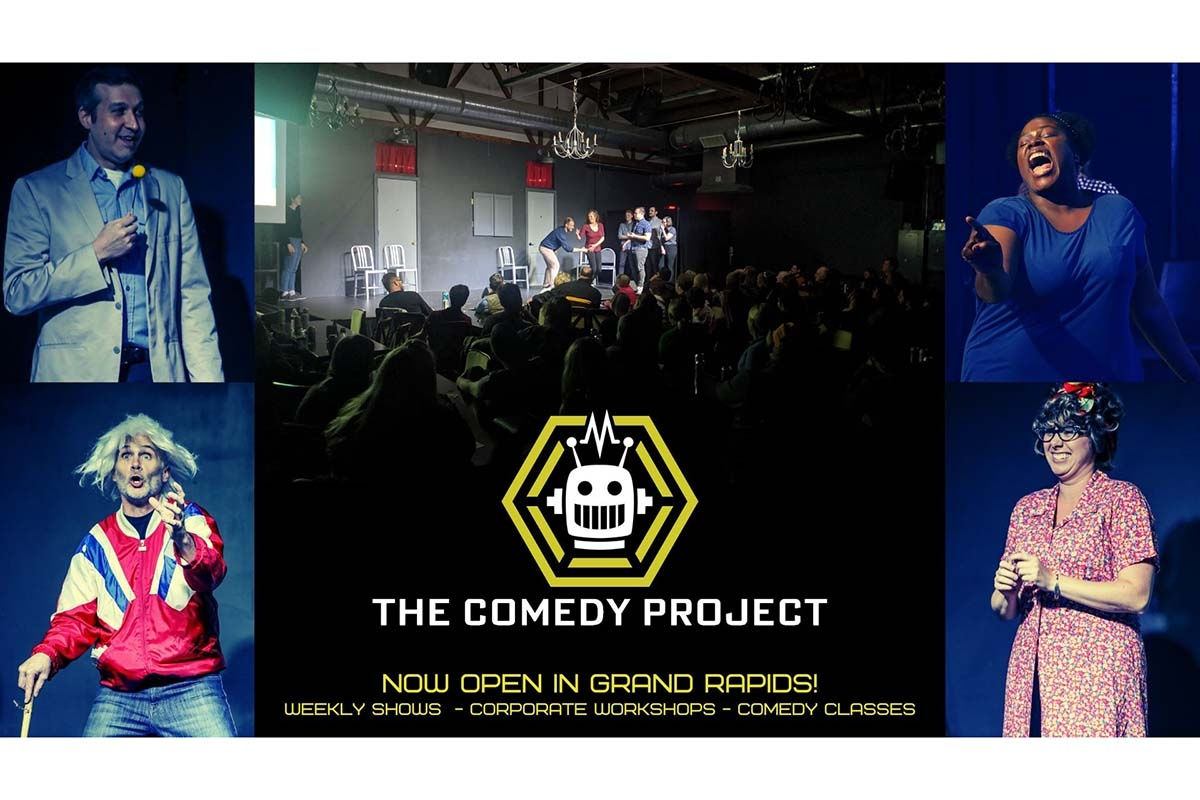 COMEDY FOR HUMANS! (Sanctioned By Robots)