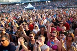 Executives at the West Michigan Whitecaps are exploring their options to nearly double the capacity for concerts at Fifth Third Ballpark in Comstock Park. Currently, the facility can hold about 8,500 for a music show, but the company aims to reconfigure the setup to allow space for 16,000 concertgoers. At that level of capacity, the ballpark could become attractive to A-list musical acts, according to CFO Denny Baxter.