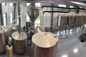 Pigeon Hill Brewing Co. started brewing in May at its new 15,000-square-foot facility at 895 Fourth St. near Shoreline Drive in Muskegon.