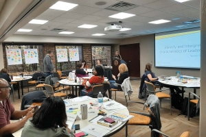 Goodwill Industries of Greater Grand Rapids tapped Western Michigan University's Professional Development department to create and implement a customized leadership training program for middle managers at the nonprofit organization.
