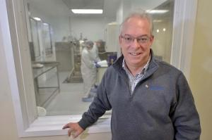 Grand River Aseptic Manufacturing President and CEO Tom Ross said the contract developer and manufacturer of injectable drugs ran into capacity constraints at its two Grand Rapids facilities. A private equity investment earlier this month will help GRAM expand to meet customers' demands.