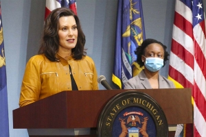 Whitmer reopens manufacturing, extends stay-home order until May 28