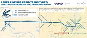 The Rapid secures federal funding for Laker Line