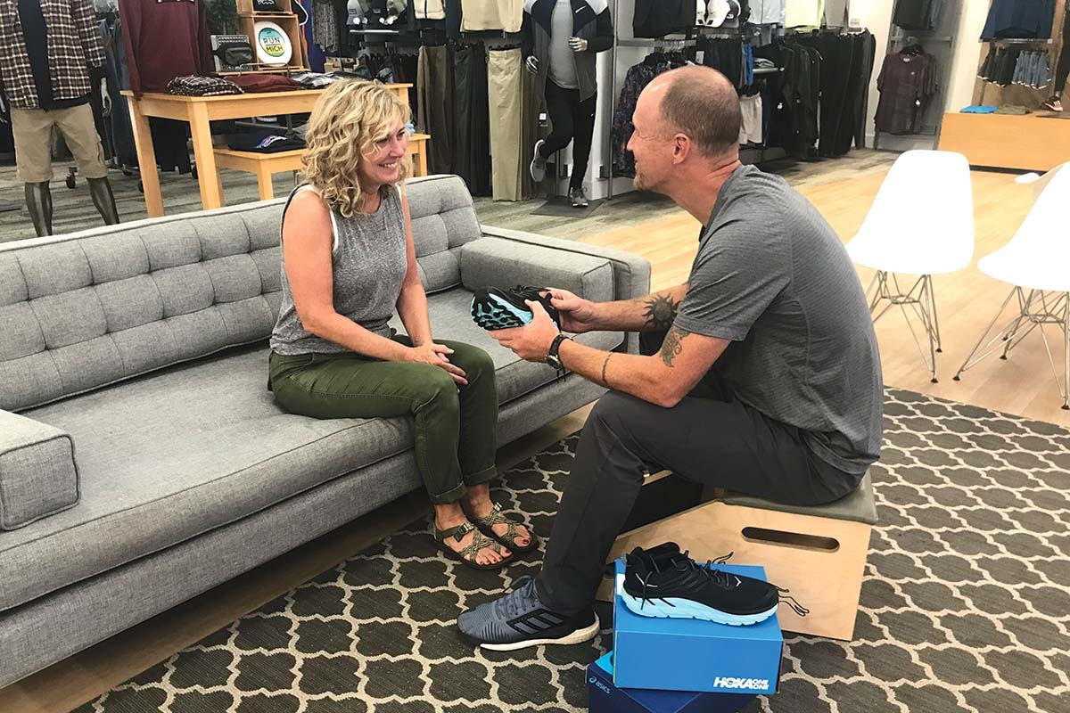 Gazelle Sports has found a niche in outdoor recreation by serving runners and walkers.