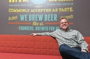 Founders CEO Mike Stevens denied a report in an international trade publication that the company planned to repurchase some of the shares it sold to Spanish brewer Mahou San Miguel.