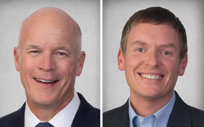 Craig Lubben and Robert Wolford, Co-managing members at Miller, Johnson, Snell & Cummiskey PLC
