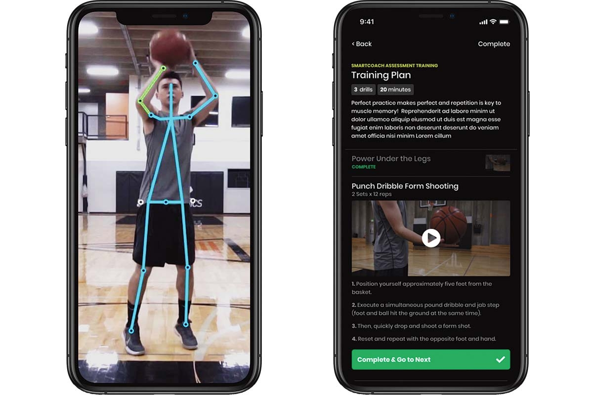 The MaxOne app allows coaches to remotely provide training and conditioning workouts to athletes.