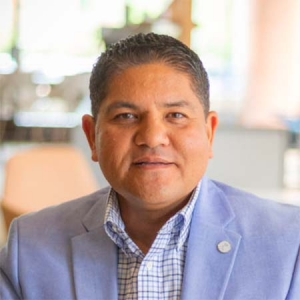 Dante Villarreal, vice president of business and talent development at the Grand Rapids Chamber