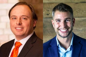 Left: Chris Matthysse, attorney Mika Meyers PLC right: Brian DeMaagd, managing director of Vision ESOP Valuation LLC