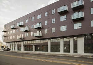 616 Lofts LLC, the developer of mixed-use properties such as Lofts on Michigan, shown here, has filed for Chapter 7 bankruptcy in the U.S. Bankruptcy Court for the Western District of Michigan.