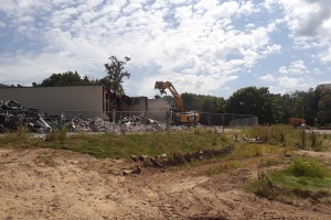 Blandford Nature Center begins demolition as part of $6.6M Highlands restoration project