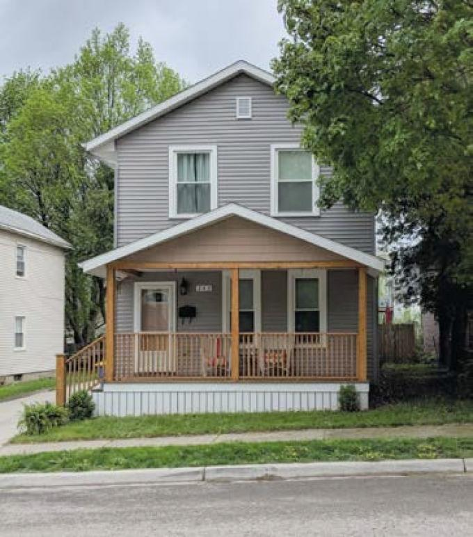 New Development Corp. of Grand Rapids receives federal and state funding to complete lead abatements when it rehabs homes like this one on Page Street on the city's northeast side.