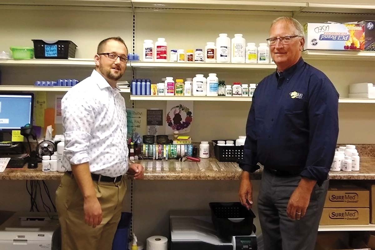 TruCare LTC Pharmacy execs Nathan Stauffer, left, and John Capotosto, right, say the company's sale to Guardian Pharmacy of Michigan positions it for statewide growth.