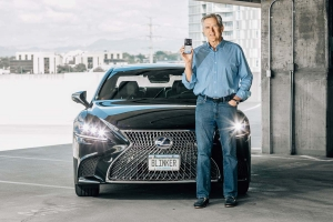 CEO Rod Buscher founded Blinker Inc. six years ago.