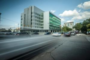 MSU's Grand Rapids Research Center opens this month after a two-year construction period. While the university continues to work on its capital campaign, economic developers in the city think the $88.1 million facility will lead to significant economic spinoff in the surrounding areas.