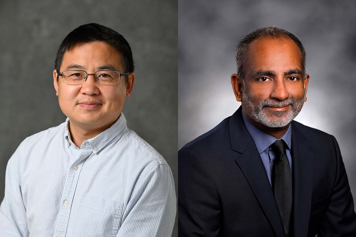 Left: Dr. Bin Chen, right: Dr. Surender Rajasekaran