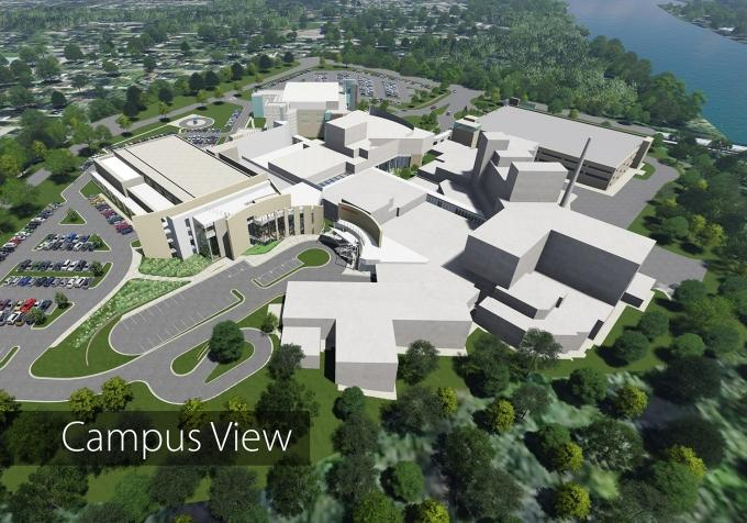 Lakeland Health is planning a $160 million expansion and renovation at its hospital campus in St. Joseph that includes the five-floor Lakeland Medical Center Pavilion.