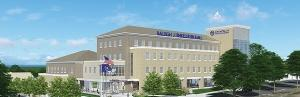 GVSU is building the Raleigh J. Finkelstein Hall at 500 Lafayette Ave. in Grand Rapids to expand programs and admissions in its 19 health sciences programs.