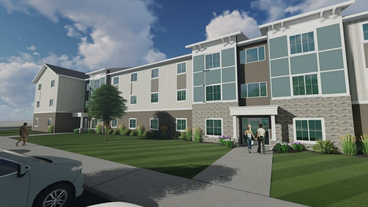 Magnus Capital Partners is proposing a 240-unit affordable housing complex along Lake Michigan Drive in Grand Rapids.