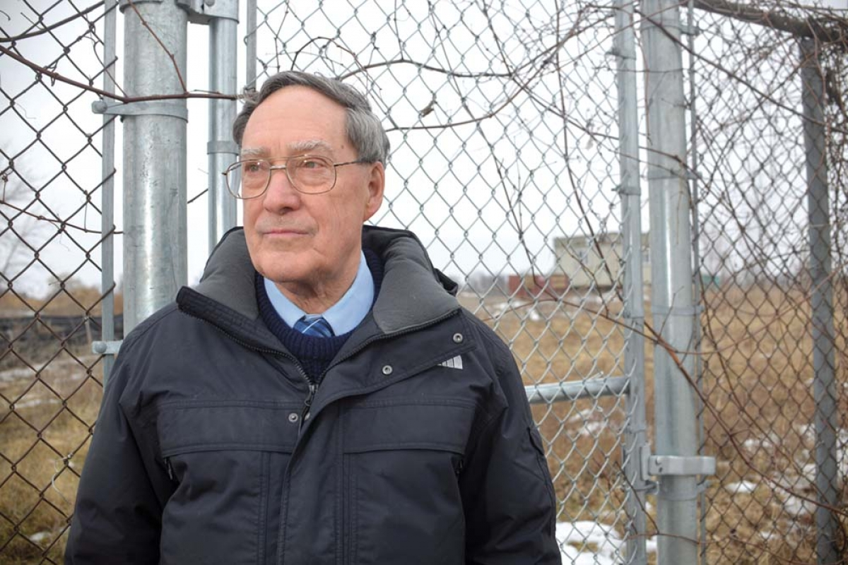 Edward Lorenz said state and federal agencies responding to PFAS contamination appear to have learned from past experiences such as the PBB and DDT debacle at the Velsicol Chemical Co. site in St. Louis, shown here. Lorenz is a member of the citizen's advisory group that monitors the cleanup at the Velsicol Superfund site.