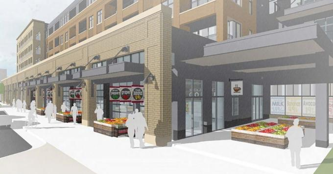 Last year, Meijer Inc. said it planned to open a 30,000-square-foot grocery store as part of Rockford Construction Co.'s redevelopment of the block near the intersection of Bridge Street and Seward Avenue on Grand Rapids' west side.
