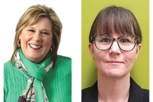 Left: Tandem365 President and CEO Teresa Toland, right: Janet Scovel, director of Medicare care management at Priority Health