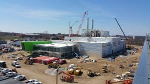 Holland's under-construction power plant earns infrastructure sustainability award