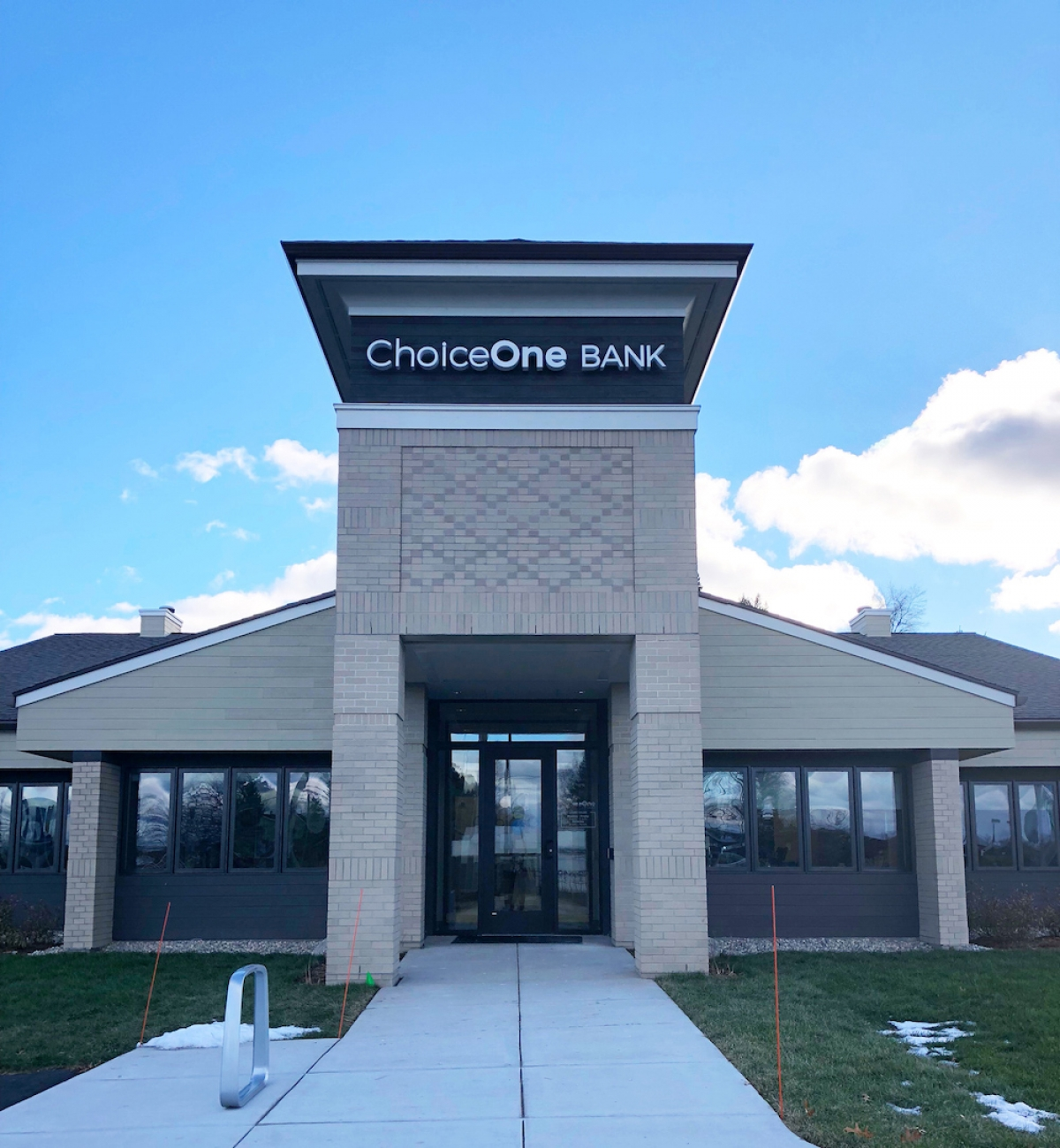 ChoiceOne Bank opened a branch in Rockford in the fourth quarter of 2018.