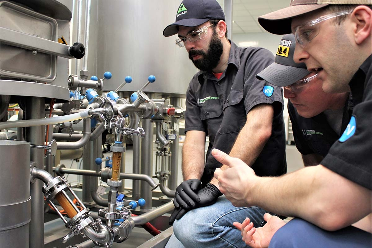KVCC secures brewpub license to sell student-made beers