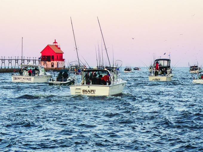 Annual catches of the prized chinook salmon have dipped in recent years, prompting concern among fishery biologists and sportsman alike. Facing an uncertain future, Lake Michigan charter fishermen and the communities that rely on them for tourism dollars have started to develop contingency plans if the salmon fail to show up in large numbers again this year.