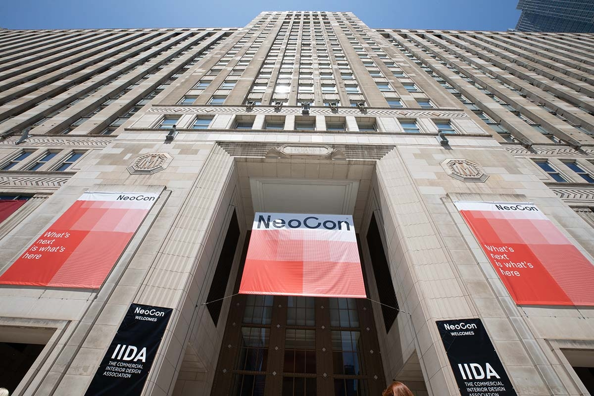 Office furniture trade show NeoCon postponed