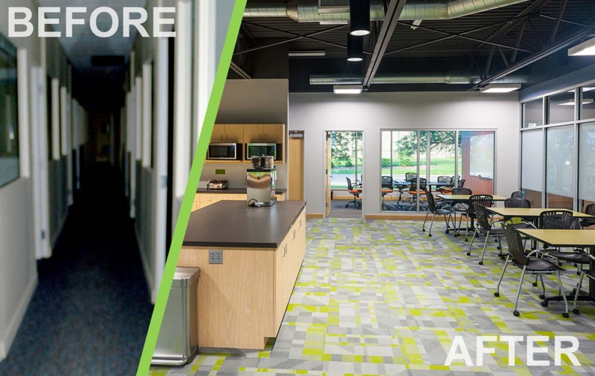 DornerWorks renovation completed by First Companies.