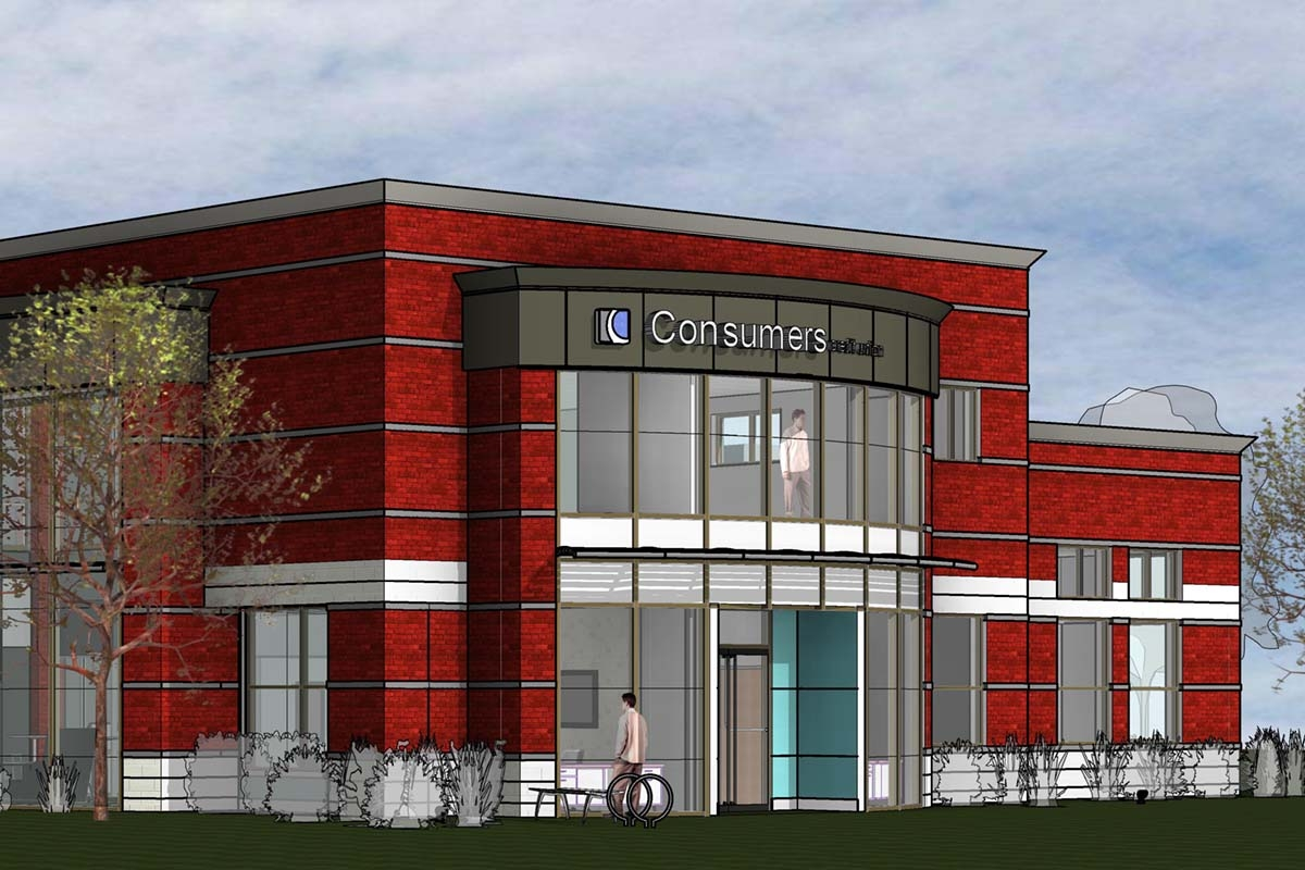 Consumers Credit Union builds new Grand Rapids-area branch