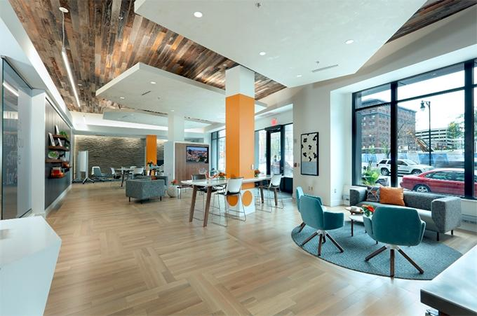 Spectrum Health opened its Strive office in the Waters Building in downtown Grand Rapids to focus on providing care when patients are healthy, rather than when they get sick.