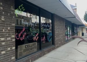 Interior work has started on the new location for Cellar Brewing Co. in the heart of Sparta's downtown. The company is moving from a warehouse-like facility on the outskirts of the village to the site of a former pharmacy. Cellar Brewing received state and local grants to support the renovation project.