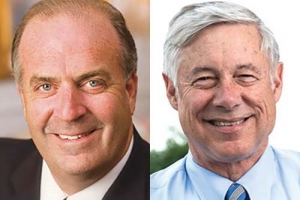 Left: Dan Kildee, right: Fred Upton
