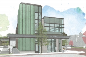 Metric Structures is proposing a small-format grocery store concept for its project at Wealthy Street and Fuller Avenue in Grand Rapids' Eastown neighborhood.