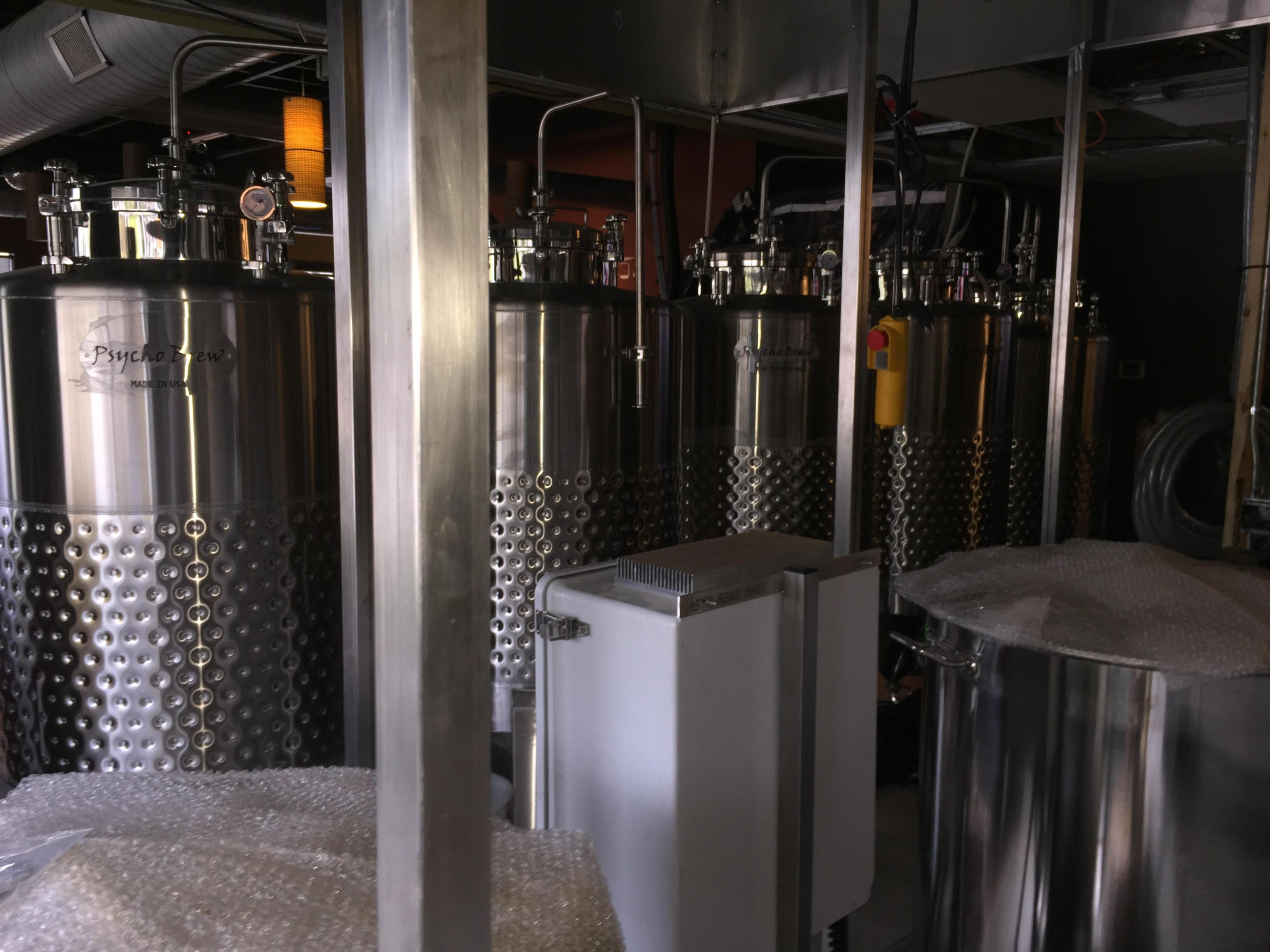EastWestBrewingCo Fermenters untouched 102716