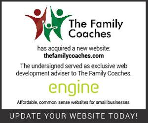 Engine Client Tombstone Ad-The Family Coaches