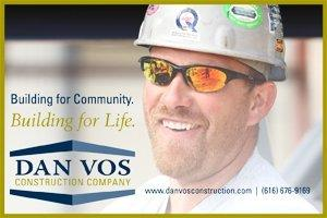Dan Vos Construction 2018 Sponsorship Banner