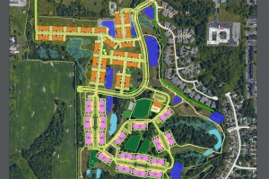 552-unit apartment complex planned at Walker golf course property