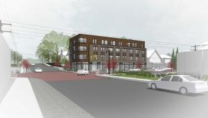 Retail and apartments proposed for vacant Grand Rapids lot