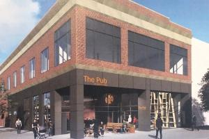 Battle Creek Unlimited provided a $200,000 incentive to lure New Holland Brewing Co. to open a satellite brewery location in Battle Creek at 64 W. Michigan Ave.