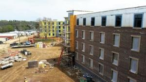 Kalamazoo-based general contractor Miller-Davis Co. has been active with higher education projects recently, including the Western Heights residence hall at Western Michigan University.