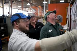Shape Corp. is partnering with SME to launch an advanced manufacturing training program at Grand Haven High School.