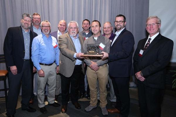 Dan Vos Construction takes home 5th MCOY Award